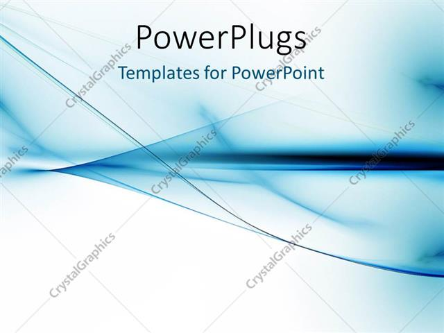 Powerpoint template abstract curves with blue and white colors 434 powerpoint template displaying abstract curves with blue and white colors toneelgroepblik Images