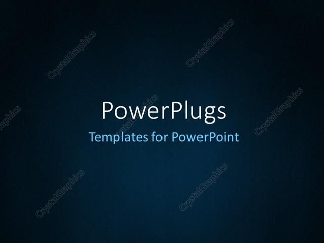 Powerpoint Template Abstract Dark Blue Background With