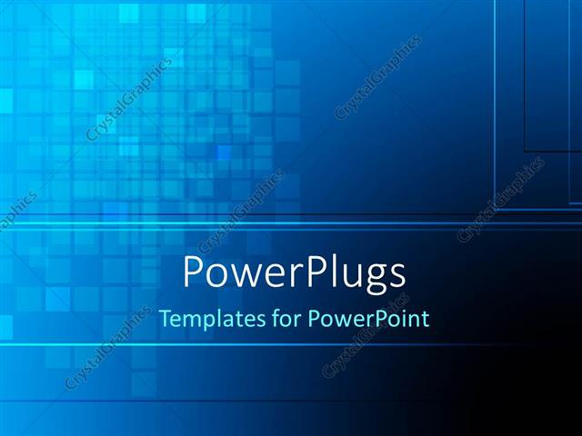 Powerpoint Template Abstract Dark Blue Color Checks Background 29165
