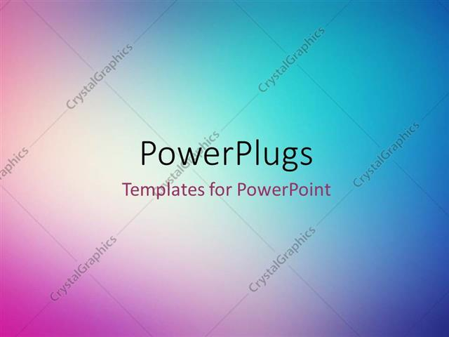 Powerpoint Template Abstract Multi Color Shades 452