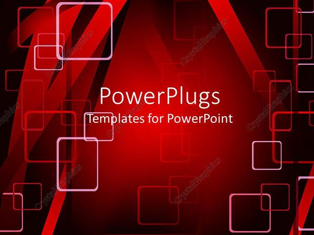 Powerpoint template abstract red dynamic background with rectangle powerpoint template displaying abstract red dynamic background with rectangle geometric pattern in red toneelgroepblik Choice Image
