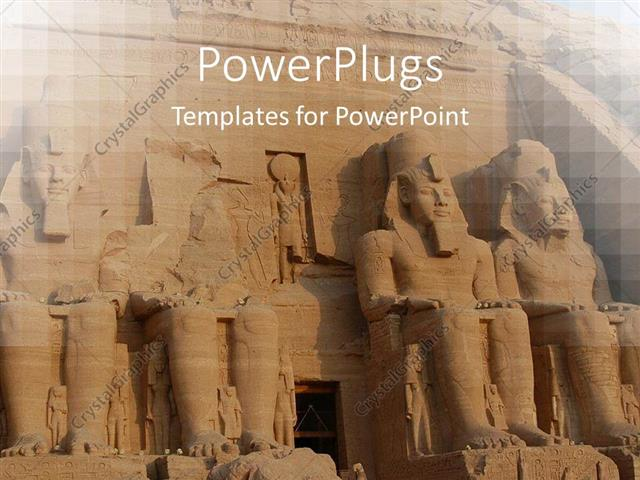 Powerpoint template abu simbel colossus egypt ancient statues powerpoint template displaying abu simbel colossus egypt ancient statues africa toneelgroepblik Images