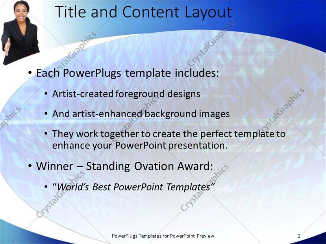 Powerpoint template african american business women with red powerpoint products templates secure toneelgroepblik