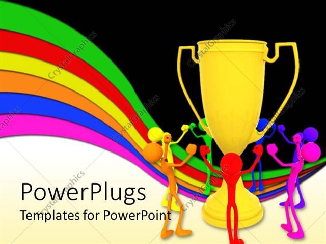 PowerPoint Template: Animated colorful human figures happy ... - photo#15