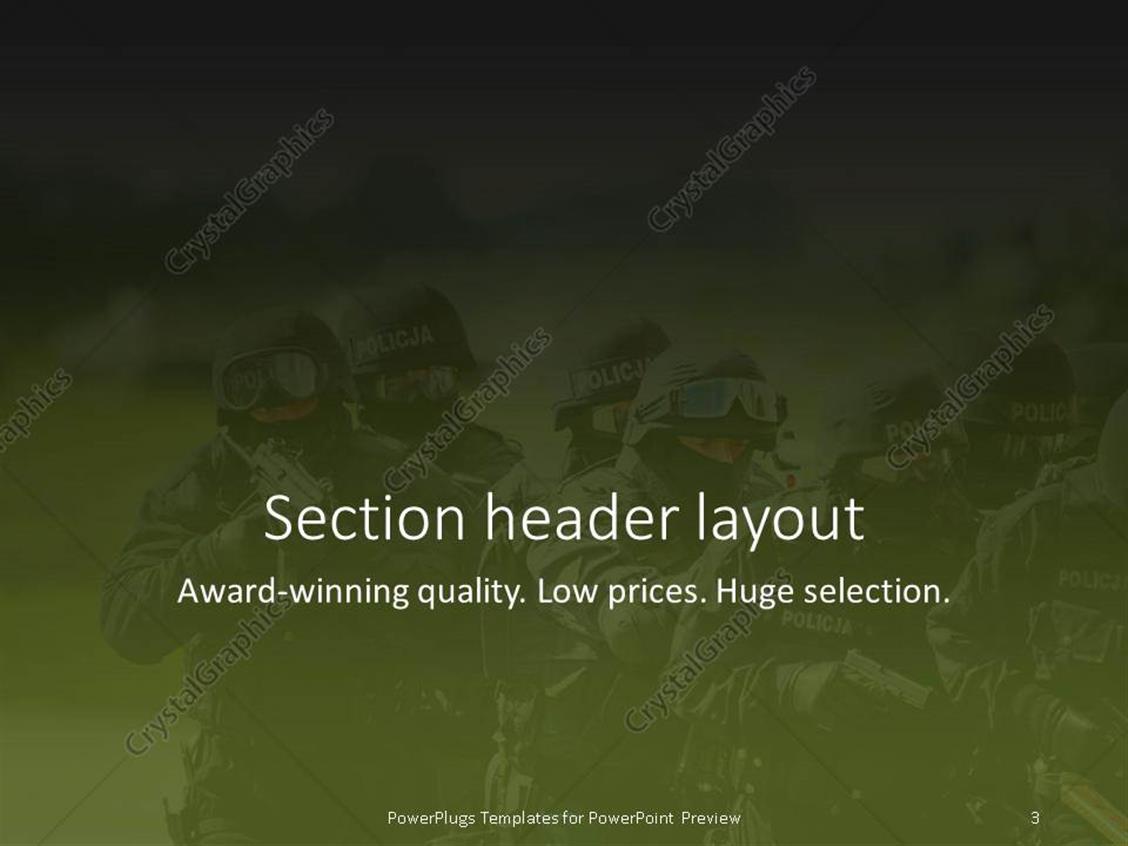 Powerpoint template anti terrorist swat commando approaching the powerpoint products templates secure toneelgroepblik Gallery