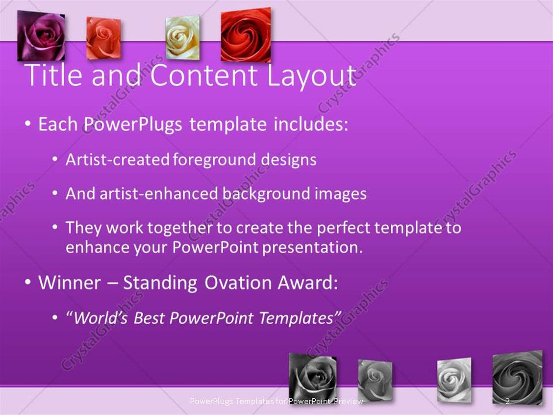 Powerpoint template art gallery with beautiful purple color powerpoint products templates secure toneelgroepblik Gallery