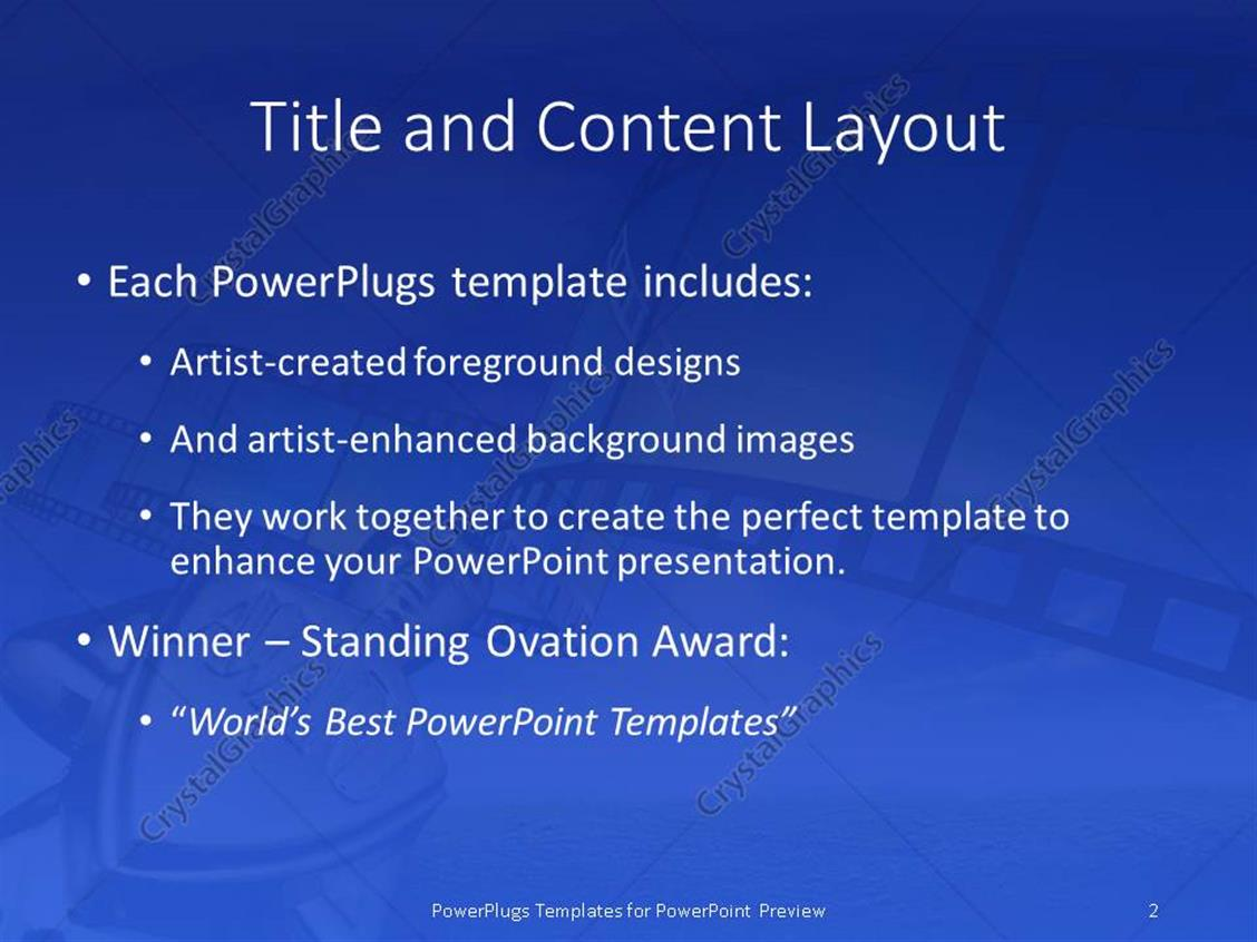 Powerpoint template award with 3d cinema film reel 12040 powerpoint products templates secure toneelgroepblik Choice Image