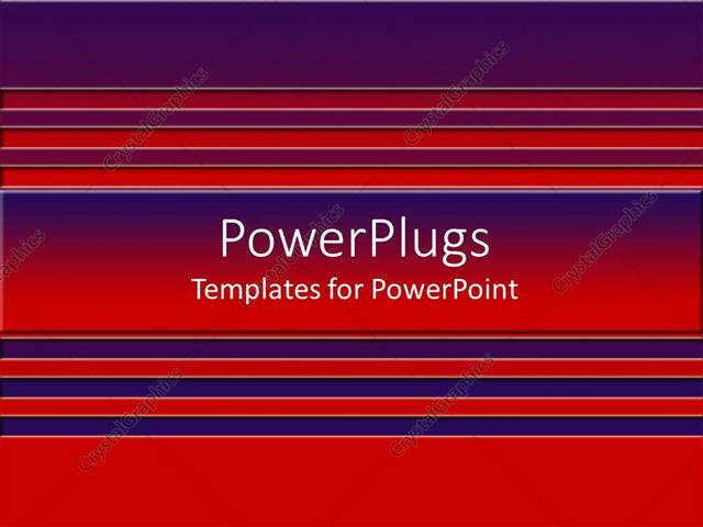 Powerpoint Template A Background Of Red And Blue Colored