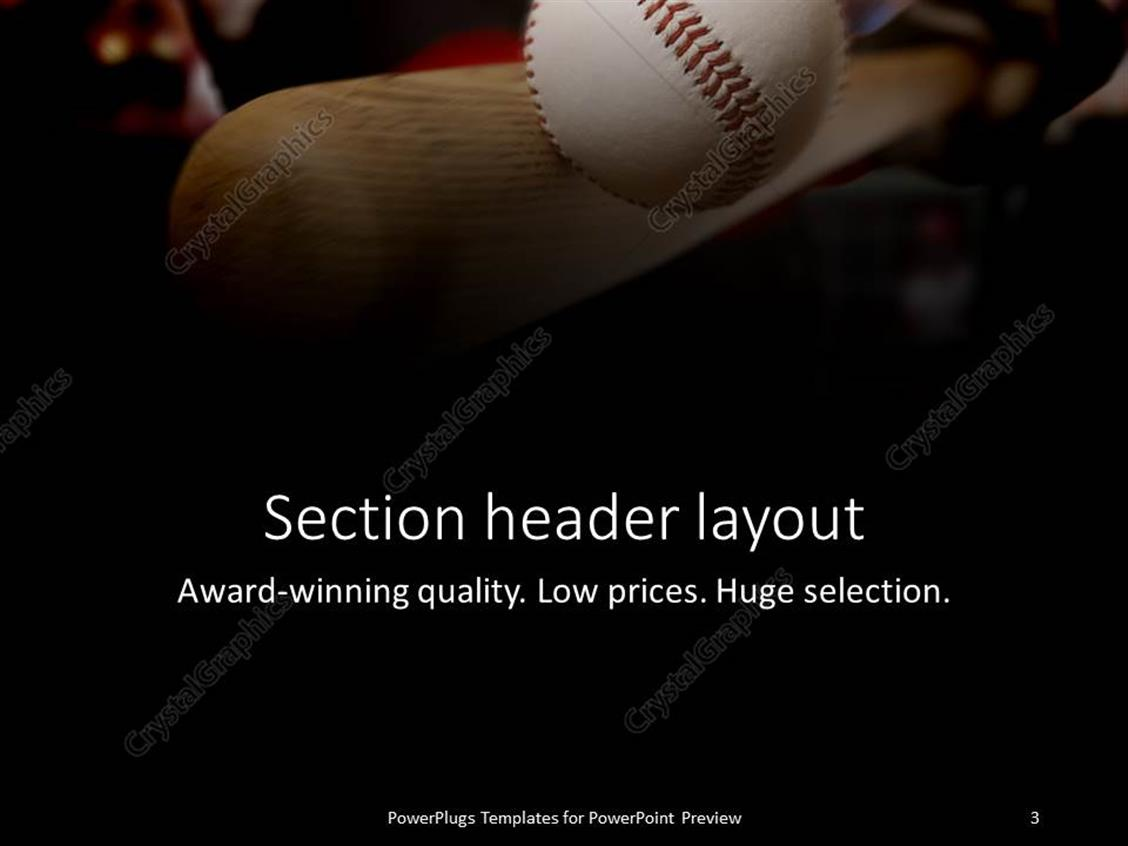 Powerpoint template baseball bat making contact with ball 2895 powerpoint products templates secure standing ovation award toneelgroepblik Choice Image