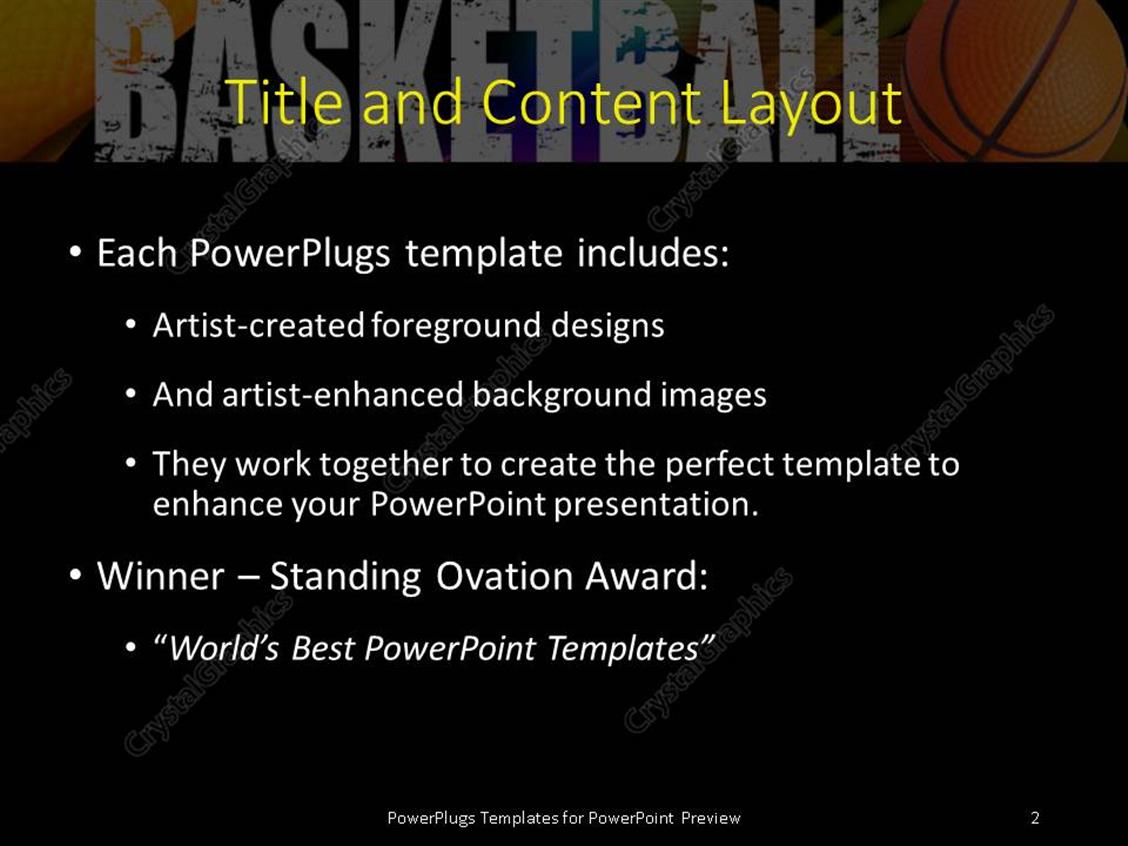 Basketball powerpoint template gallery templates dishlex global 300 powerpoint template a basketball players representation with basketball players representation blackish background xl 2918 1 a yadclub Gallery