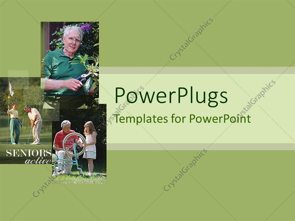 Powerpoint Template A Beautiful Depiction Of A Family