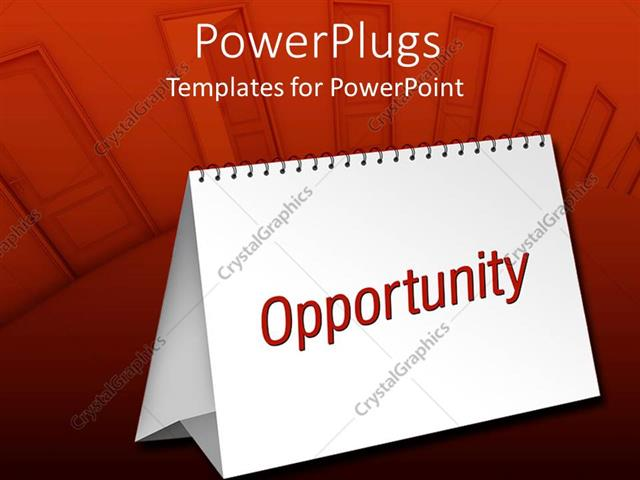 Powerpoint Template Blank Table Calendar With Red Opportunity Word