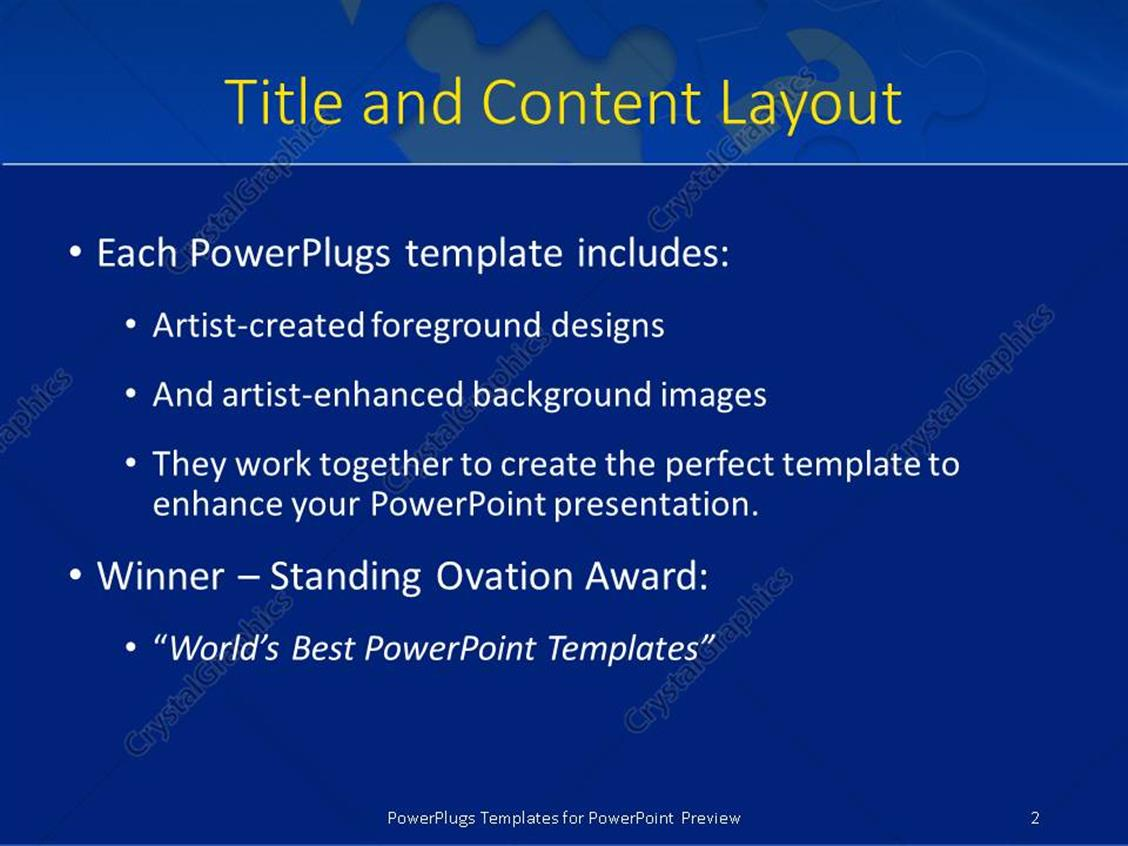 Powerpoint template blue jigsaw puzzle with missing piece and powerpoint products templates secure toneelgroepblik Images