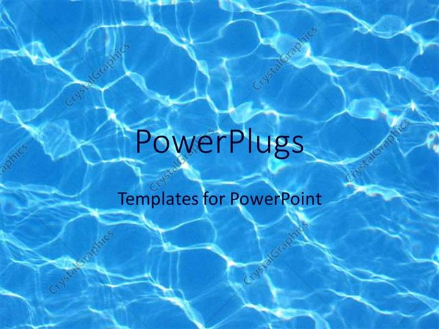 Powerpoint template blue water reflections in pool summer swimming powerpoint template displaying blue water reflections in pool summer swimming toneelgroepblik Images