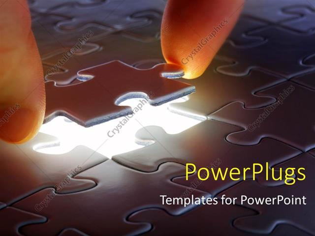 Powerpoint template businessman solving puzzle by cnnecting the powerpoint template displaying businessman solving puzzle by cnnecting the missing piece toneelgroepblik Images