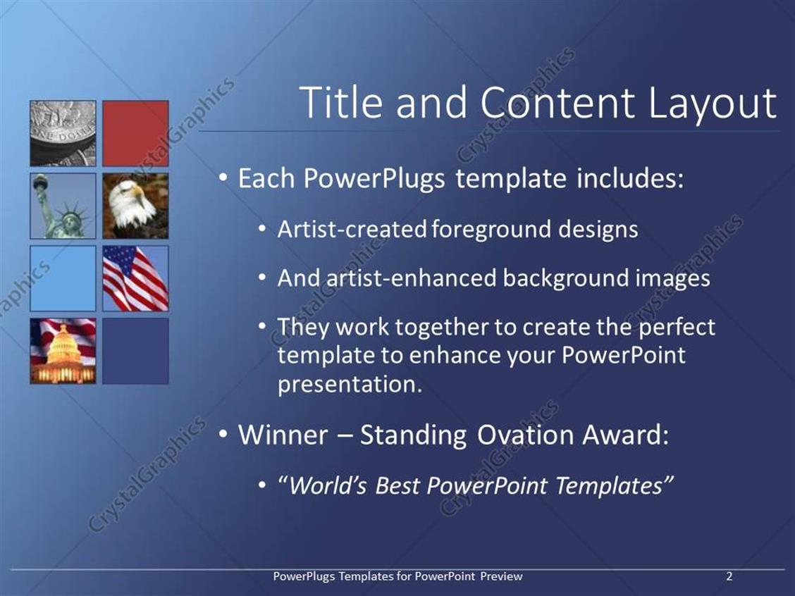 Powerpoint template us capitol with american flag background powerpoint products templates secure toneelgroepblik Gallery