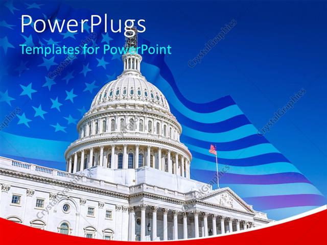 Powerpoint template us capitol over blue sky washington dc 30501 powerpoint template displaying us capitol over blue sky washington dc toneelgroepblik Images