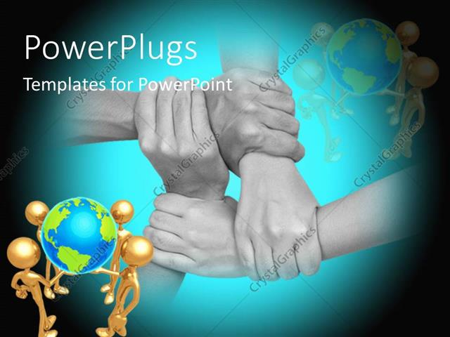 Powerpoint template close up multicultural hands holding each powerpoint template displaying close up multicultural hands holding each other with different humanoids toneelgroepblik Images