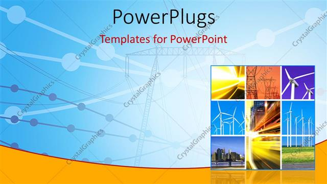 Powerpoint template electricity generation and transmission with powerpoint template displaying electricity generation and transmission with collage of wind turbines toneelgroepblik Gallery