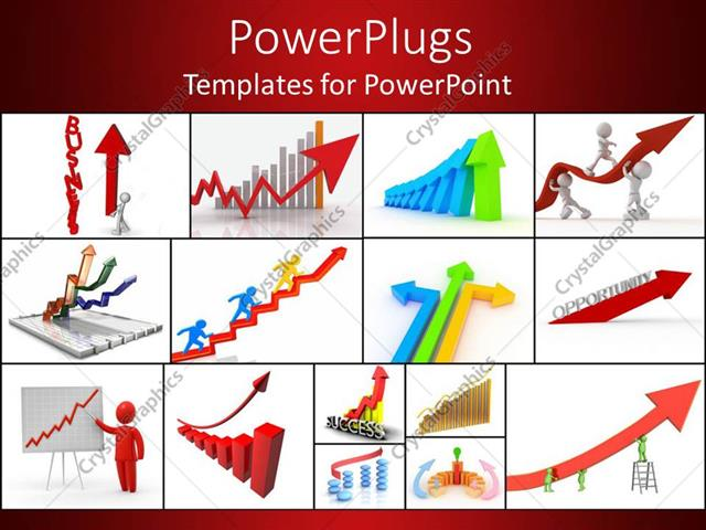 Powerpoint template a collection of various business concepts in powerpoint template displaying a collection of various business concepts in from of graphics toneelgroepblik Image collections