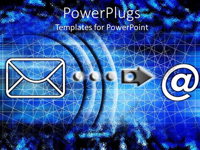 Powerpoint template computer graphics of an symbol and an powerpoint template displaying computer graphics of an symbol and an internet mail toneelgroepblik Image collections