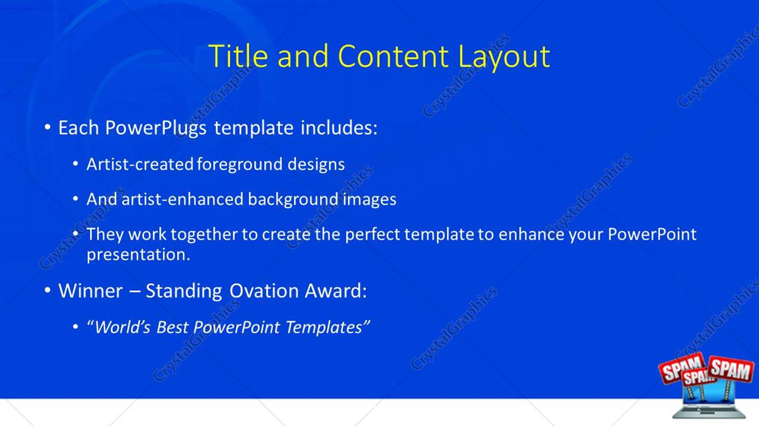 Powerpoint template spam banners emerging from laptop screen with powerpoint products templates secure alramifo Image collections