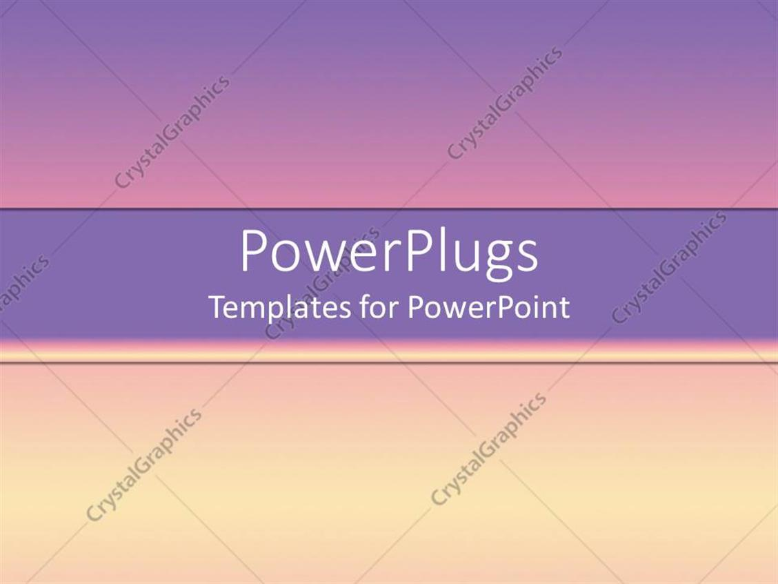 PowerPoint Template: cool pink and yellow gradient ...