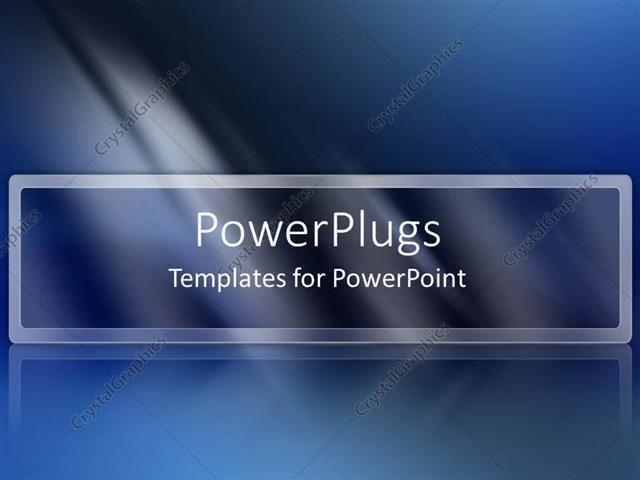 Powerpoint Template Dark Blue Abstract Light Fading White