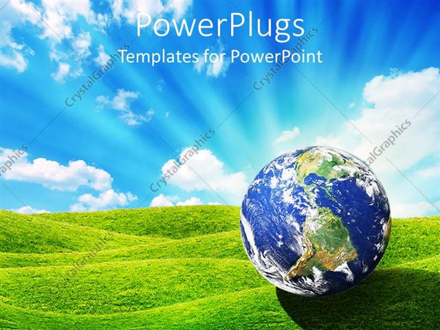 Earth business concept powerpoint templates business & finance.