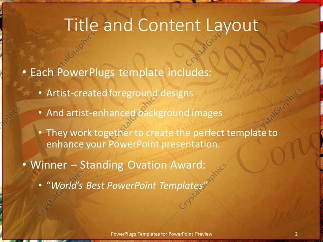Powerpoint template declaration of independence american flag powerpoint products templates secure toneelgroepblik Images