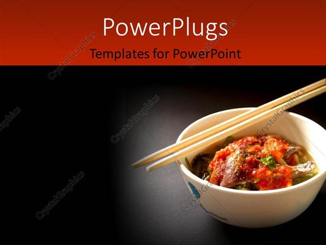 PowerPoint Template: Delicious Thai food and Thai cuisine