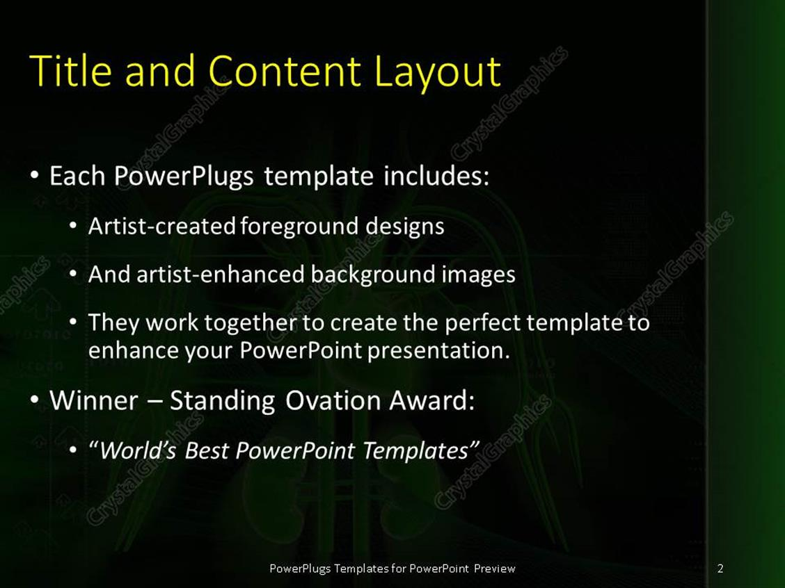 Powerpoint template depiction of human anatomy with heart kidney powerpoint products templates secure toneelgroepblik Image collections