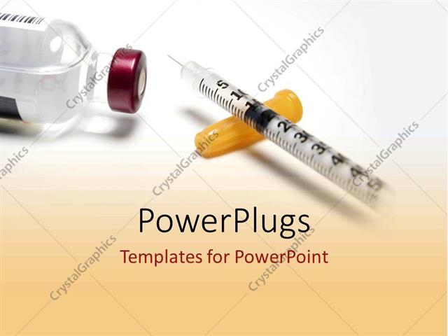 Powerpoint template diabetic drugs and medicine from powerpoint template displaying diabetic drugs and medicine from pharmaceuticals including a syringe and toneelgroepblik Choice Image