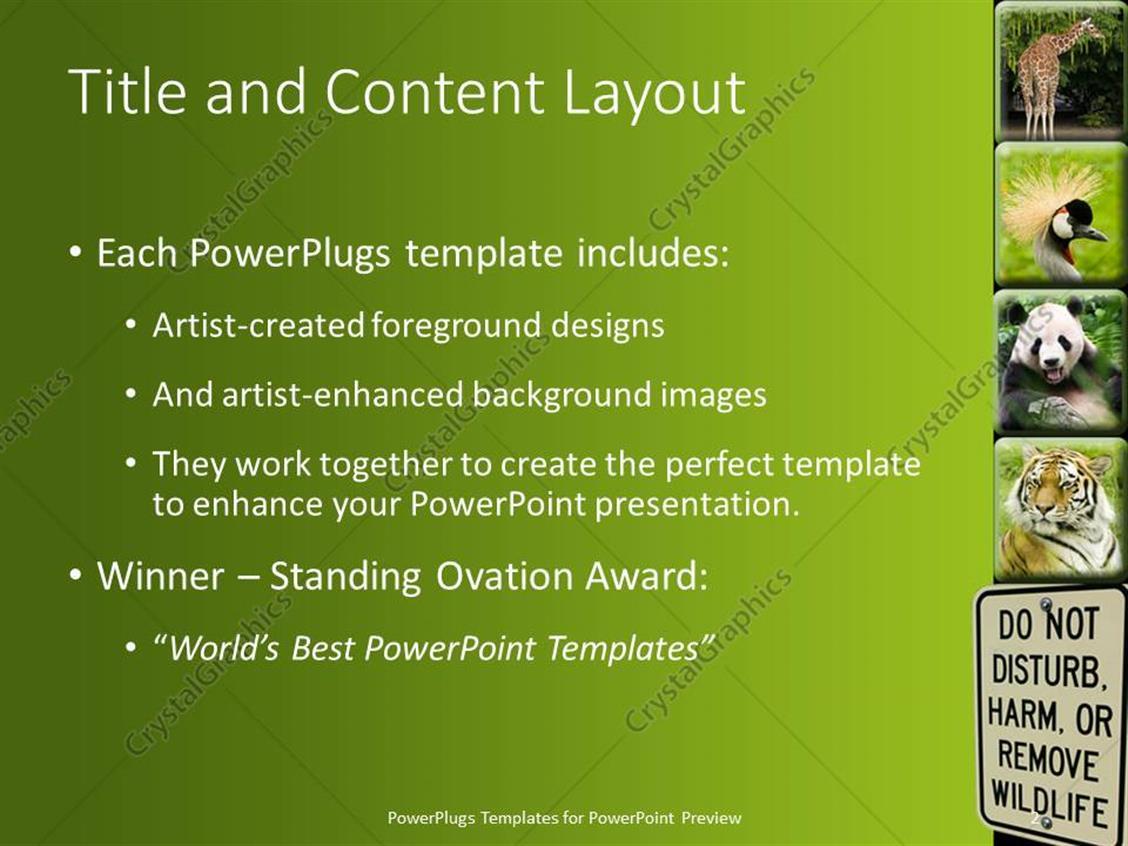 Powerpoint template different tiles showing different animals with powerpoint products templates secure toneelgroepblik Images