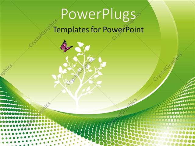 Powerpoint template environmental concept in green with flowers and powerpoint template displaying environmental concept in green with flowers and a butterfy toneelgroepblik Choice Image