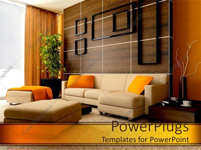 Powerpoint template exquisite contemporary designed living room powerpoint template displaying exquisite contemporary designed living room toneelgroepblik Image collections
