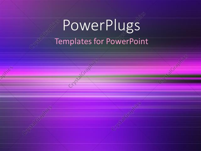 powerpoint template fantastic powerful abstract stripe background