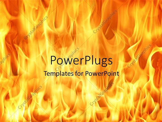 Powerpoint template fire and flames background 12289 powerpoint template displaying fire and flames background toneelgroepblik Choice Image