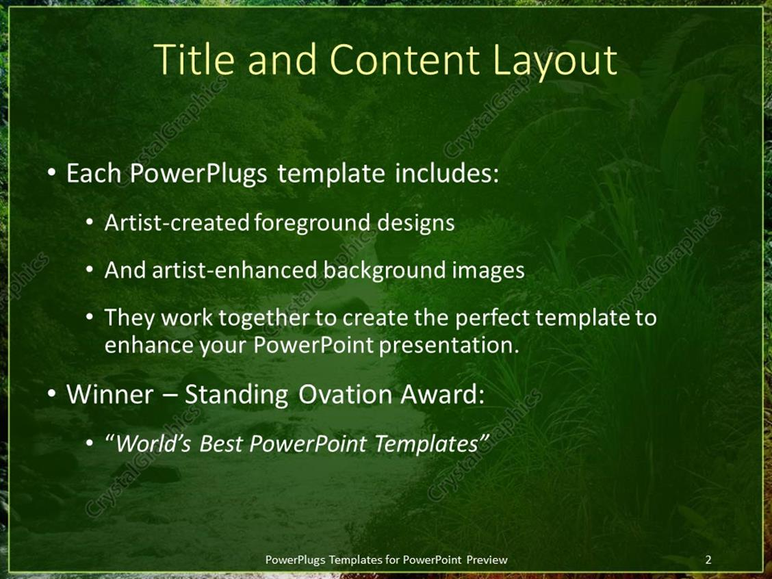 Powerpoint template flowing stream with green natural vegetation powerpoint products templates secure toneelgroepblik Choice Image