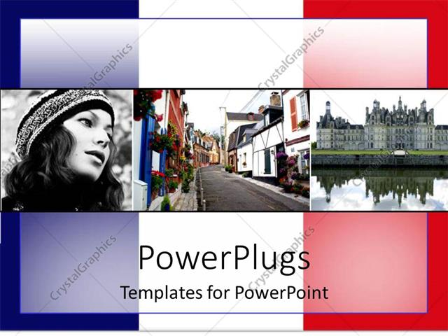 french powerpoint template