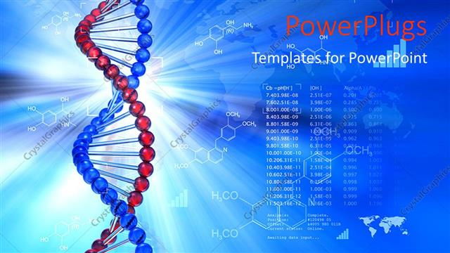 Powerpoint template genetic dna symbol with chemical formulas in powerpoint template displaying genetic dna symbol with chemical formulas in background toneelgroepblik Images