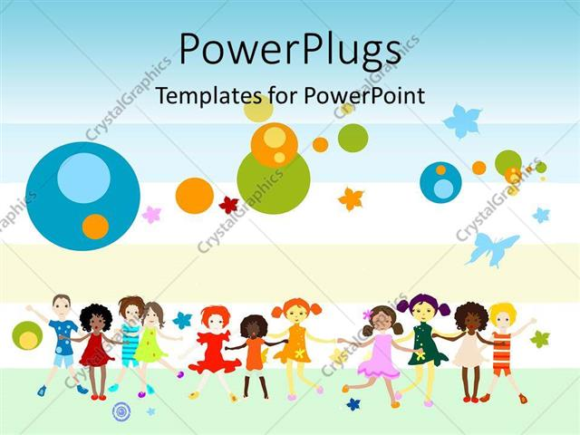 Powerpoint Template Global Diversity Graphics And