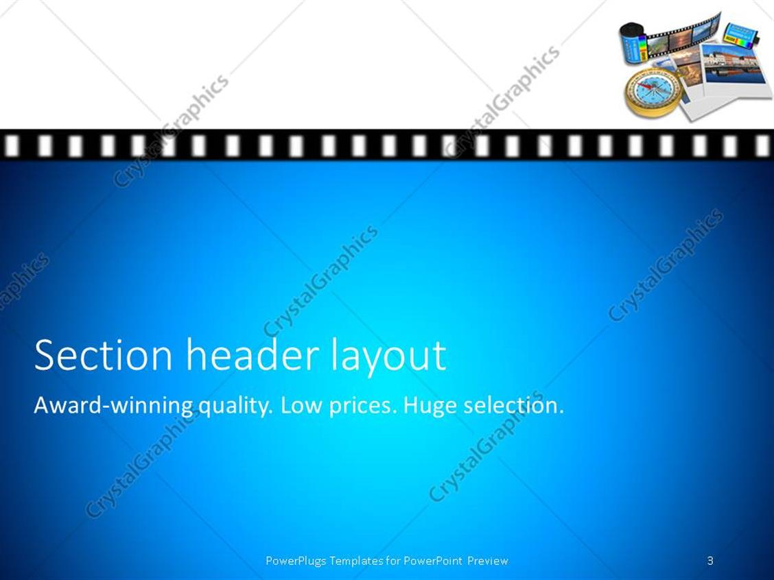Powerpoint template golden compass pictures and film canisters on powerpoint products templates secure standing ovation award toneelgroepblik Choice Image