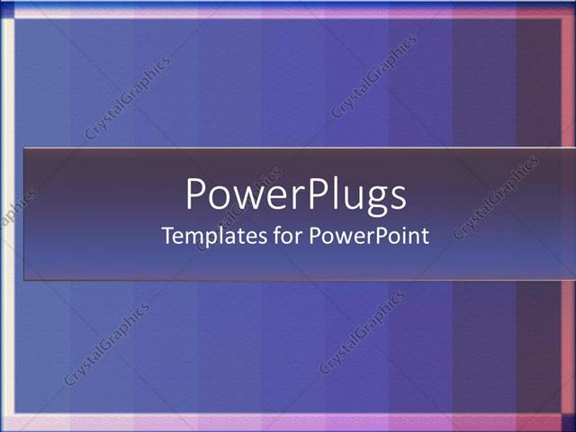powerpoint template gradients blue stripes with lines framing the