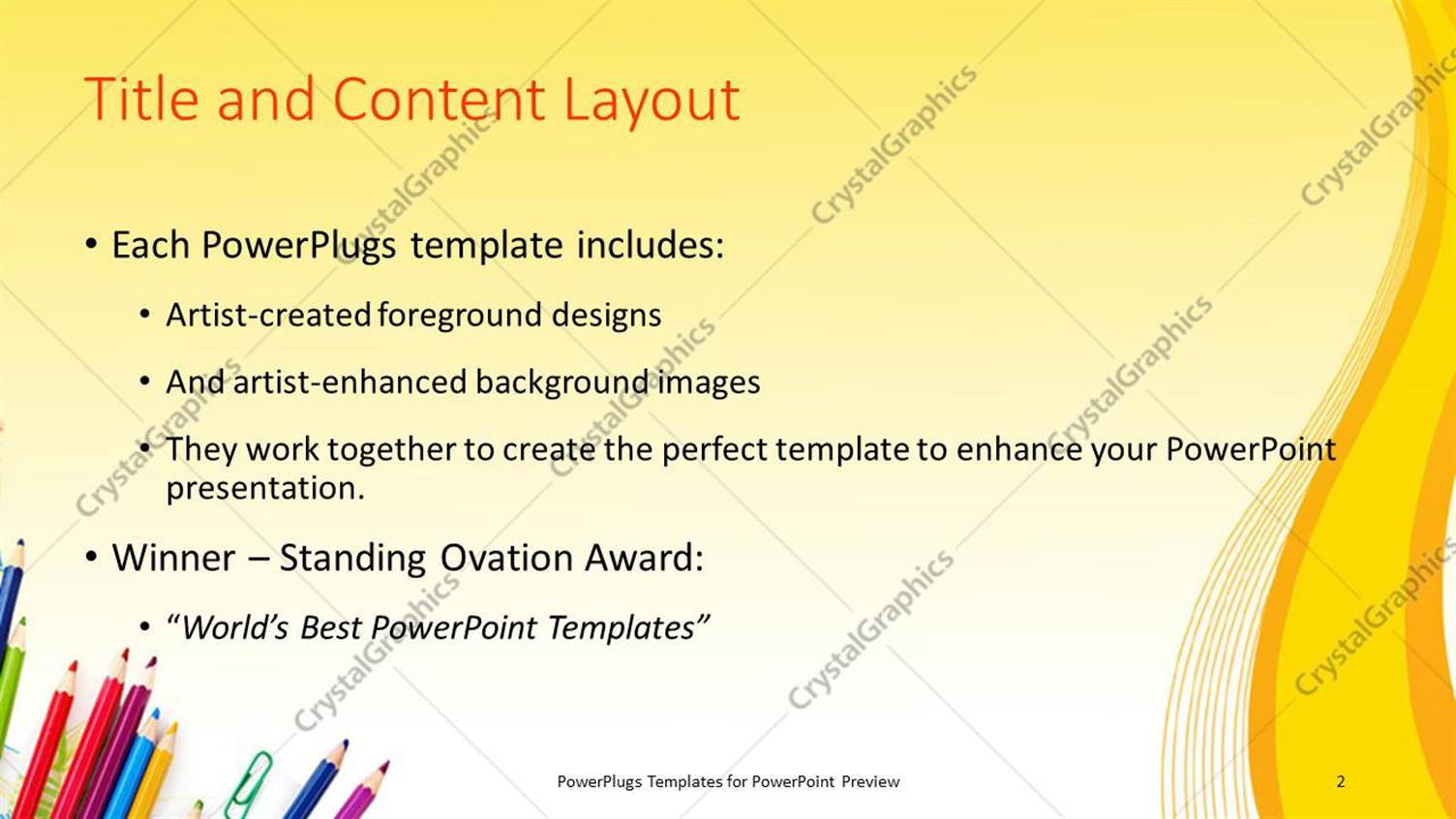 Powerpoint template learning depiction with school supplies on powerpoint products templates secure toneelgroepblik Image collections