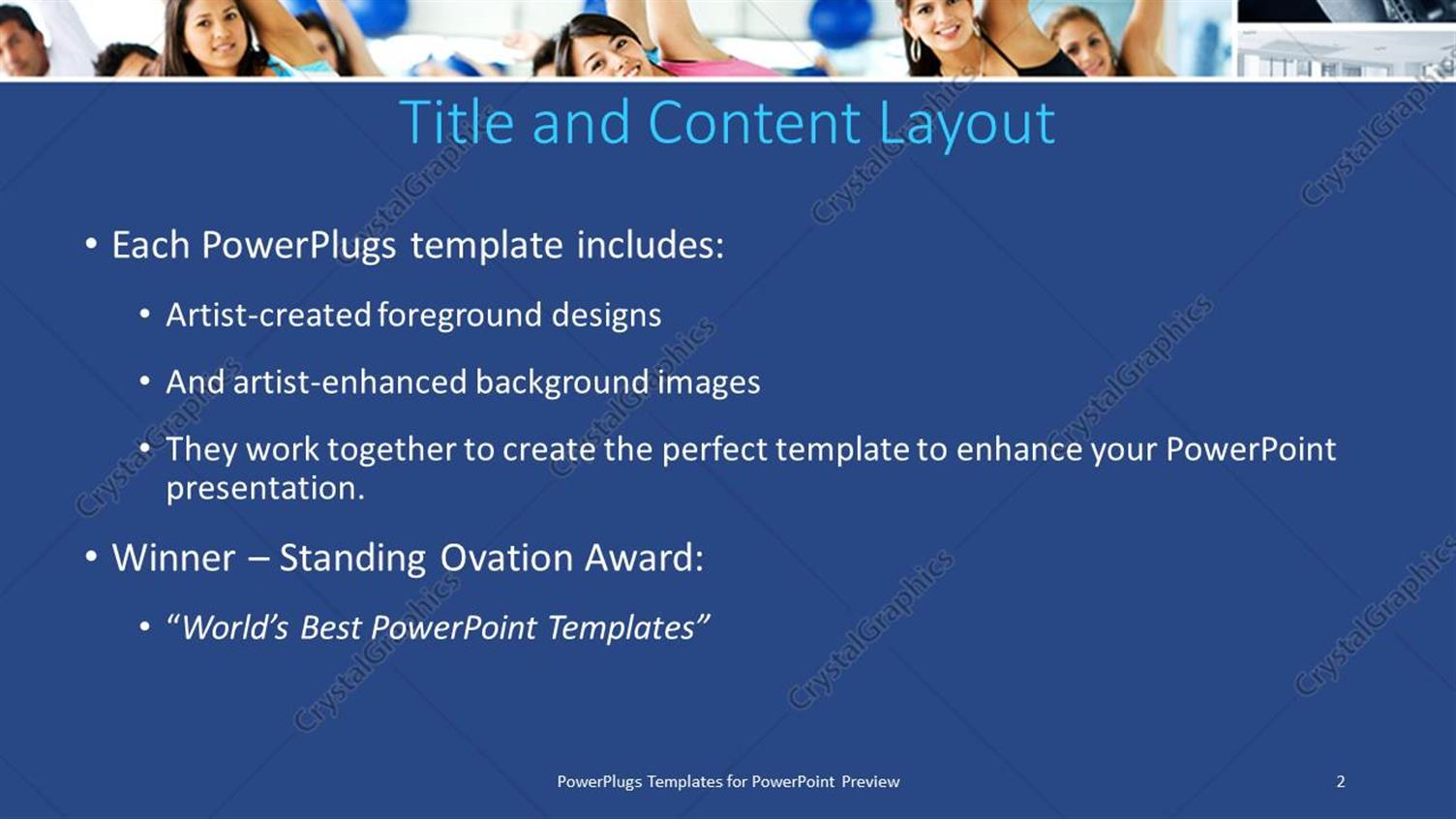 Powerpoint template group zumba class yoga exercise stretching blue powerpoint products templates secure toneelgroepblik Choice Image
