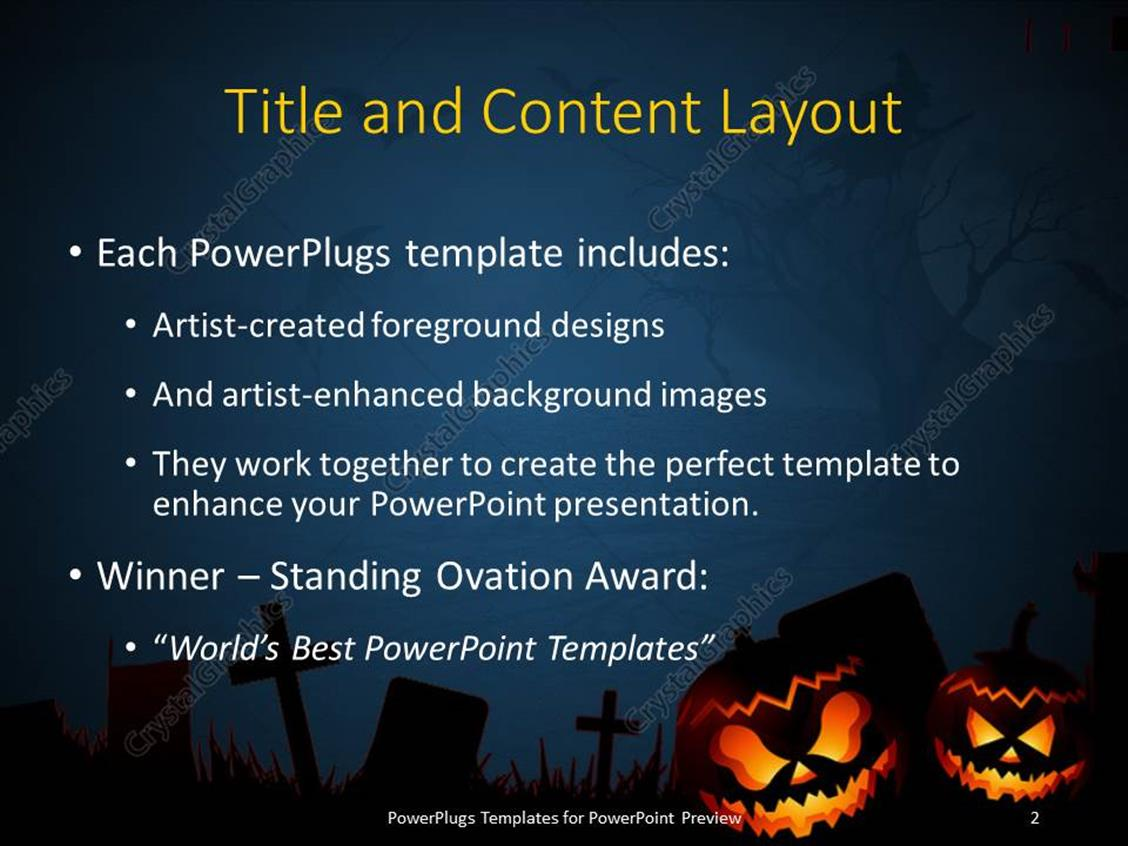 Powerpoint template halloween dark scenery with naked trees full powerpoint products templates secure alramifo Choice Image
