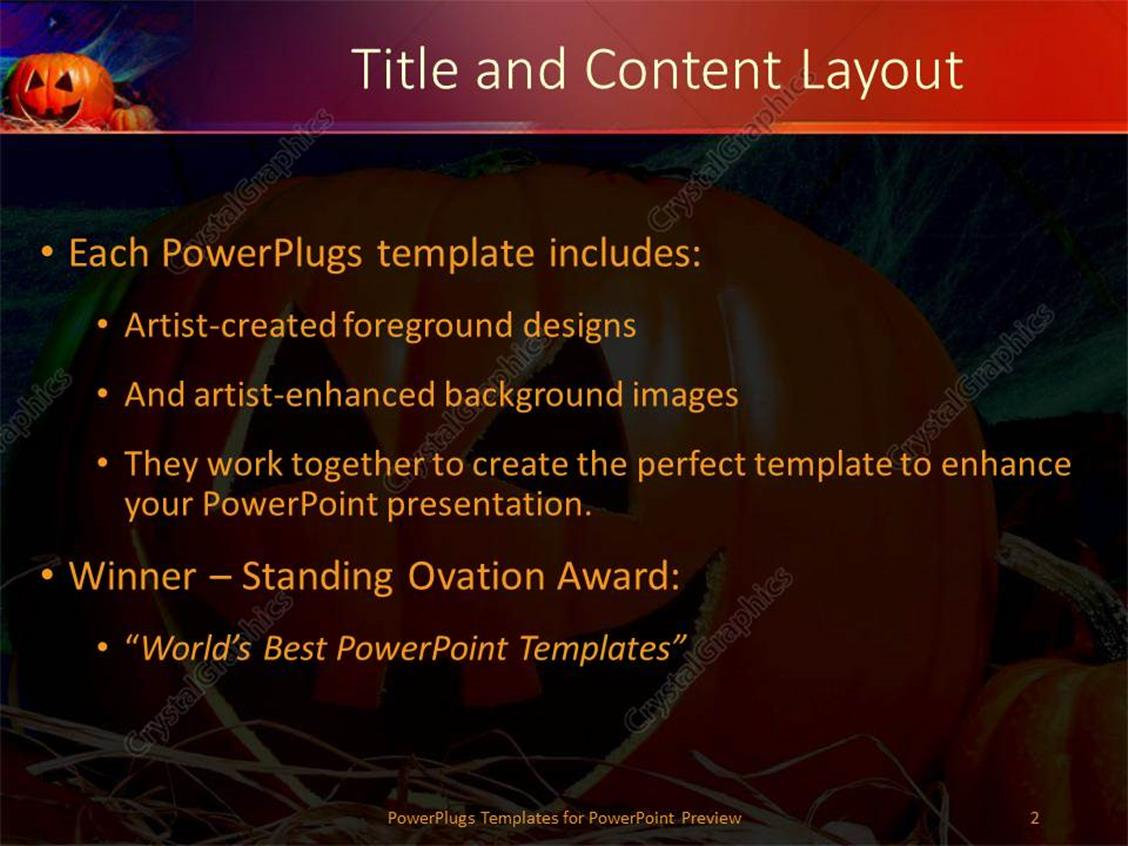 Powerpoint template halloween decorations pumpkin bat spider webs powerpoint products templates secure alramifo Choice Image