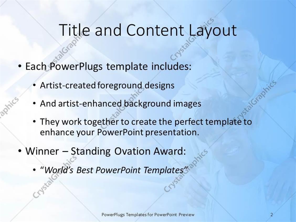Powerpoint template happy afro american family and house symbol powerpoint products templates secure toneelgroepblik Images