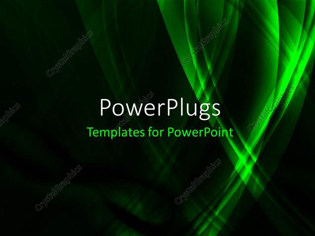 Powerpoint template high tech green infinity concept with black powerpoint template displaying high tech green infinity concept with black color background toneelgroepblik Choice Image